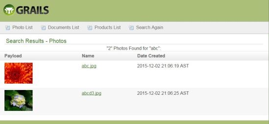 """Below is a snapshot of the """"Result.gsp"""" where the search result for (Product/""""xbox"""")is listed below:"""